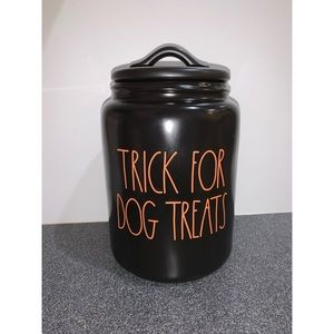 ae Dunn Trick For Dog Treats Treat Canister